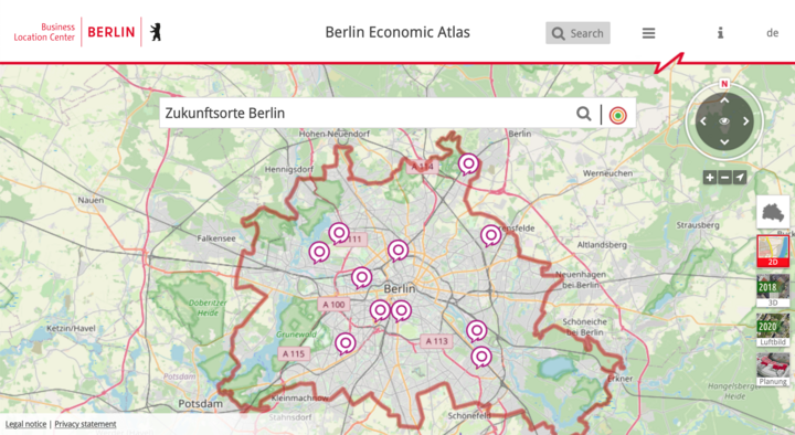 Berlin Economic Atlas